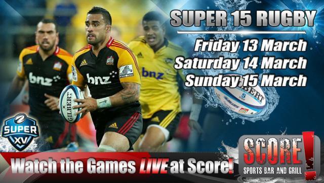 Blues V Crusaders Super Rugby Eden Park Auckland