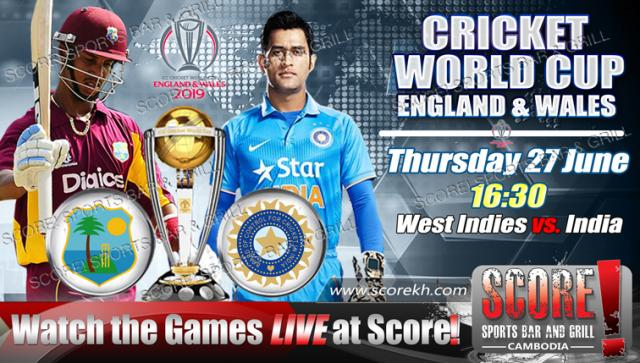 World Cup - West Indies vs  India - Old Trafford, Manchester